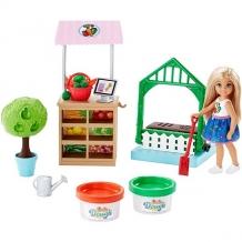 """Купить mattel barbie frh75 барби """"овощной сад челси"""""""