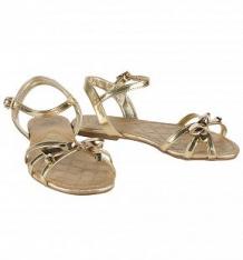 Купить босоножки bibi shoes, цвет: золотой ( id 2744900 )