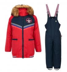 Купить комплект куртка/комбинезон лайки, цвет: красный/синий ( id 7464373 )