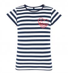 Купить футболка mm dadak 'адриатика', цвет: белый/синий ( id 5145055 )