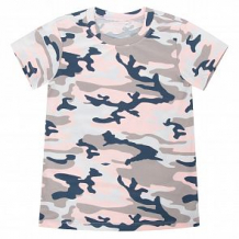 Купить футболка leader kids камуфляж, цвет: розовый ( id 11271374 )