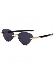 Купить rimless cat eye sunglasses 253806101