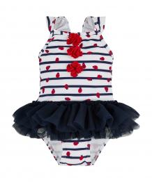 Купить купальник с юбочкой-пачкой, белый и синий mothercare 3656332