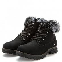 Купить ботинки keddo, цвет: черный ( id 12010402 )