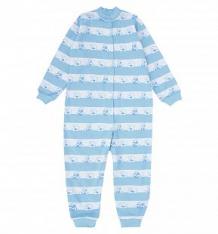 Купить комбинезон чудесные одежки голубые мишки, цвет: белый/голубой ( id 10075935 )