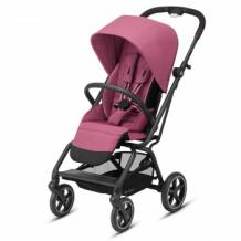 Купить коляска прогулочная cybex eezy s twist+ 2 blk magnolia pink с бампером и дождевиком, розовый cybex 997172531