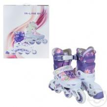 Купить ролики action sport, цвет: фиолетовый ( id 480320 )