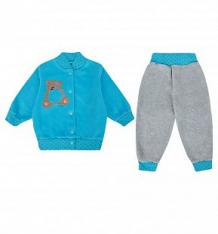 Купить комплект кофта/брюки babyglory тимоша, цвет: голубой ( id 8386435 )