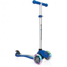 Купить трехколесный самокат globber primo fantasy lights, синяя гонка ( id 8304586 )
