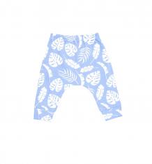 Купить брюки the hip! листья, цвет: голубой/белый ( id 9338563 )