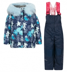 Купить комплект куртка/брюки boom by orby, цвет: синий 70465_bog вар.3