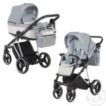 Купить коляска 2 в 1 adamex verona special edition, цвет: серый ( id 12690886 )