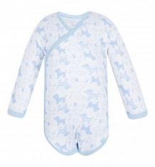 Купить боди чудесные одежки 540157, цвет: белый/голубой ( id 5780059 )