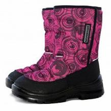 Купить сапоги nordman lumi, цвет: розовый ( id 12032086 )
