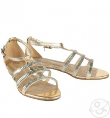 Босоножки Bibi shoes, цвет: золотой ( ID 2745005 )