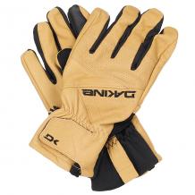 Купить перчатки сноубордические dakine daytona glove tan черный,коричневый 1190191