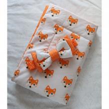 Купить lovelycare конверт-одеяло на выписку лисята весна/осень + бант 100760