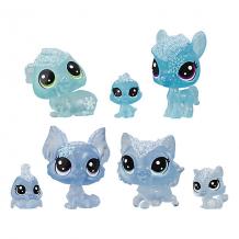 """Купить набор фигурок littlest pet shop """"холодное царство"""", 7 голубых петов ( id 12267522 )"""