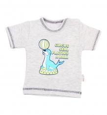 Купить футболка mamatti seal, цвет: серый ( id 5081665 )