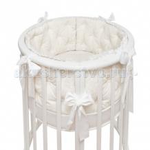 Купить бортик в кроватку colibri&lilly rafaello round в круглую и овальную кроватку