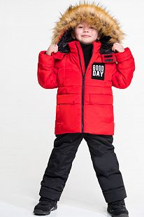 Купить комплект куртка/брюки boom by orby, цвет: красный ( id 11632276 )
