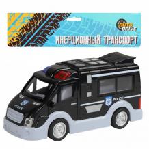 Купить autodrive фургон полицейский инерционный jb0402810