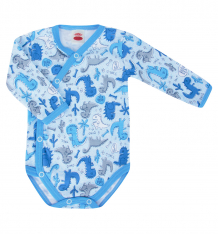 Купить боди makoma dino blue, цвет: голубой ( id 6975649 )