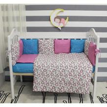 Купить комплект в кроватку 6 предметов by twinz, лаванда ( id 5045065 )