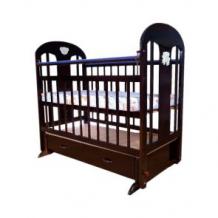 Купить кровать-качалка briciola 5, цвет: темный ( id 2763971 )