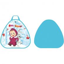 """Купить ледянка 1toy """"маша и медведь"""", треугольная, 52х50 см ( id 7241967 )"""