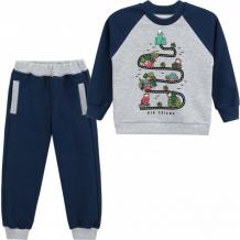 Купить babycollection комплект для мальчика (свитшот и брюки) веселая дорога 632/ksw021/ft2/k1/003/p1/w*m