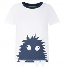 Купить футболка kiki kids пушистик, цвет: белый ( id 8167531 )