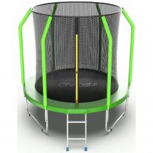 Купить evo jump батут cosmo с внутренней сеткой и лестницей 6ft