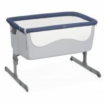 Купить кроватка детская chicco next2me spectrum, синий chicco 997046047