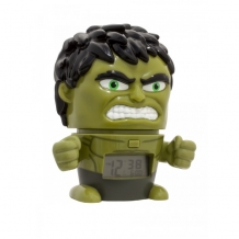 Купить часы марвел (marvel) будильник bulbbotz минифигура hulk халк 14 см 2021739