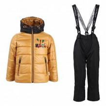 Купить комплект куртка/брюки boom by orby, цвет: желтый ( id 10859753 )