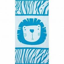 Купить полотенце крошка я лев 70х130 см, цвет: синий/голубой ( id 12705460 )
