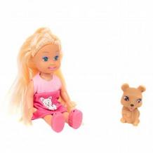 Купить игровой набор игруша кукла с коричневой собачкой 11 см ( id 12593770 )