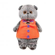 Купить мягкая игрушка budi basa кот басик в вязанном жилете, 22 см ( id 11371190 )