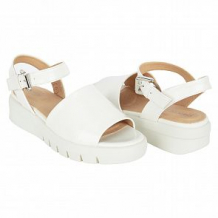 Купить босоножки geox d wimbley sandal, цвет: белый ( id 10505531 )