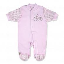 Купить комбинезон leo сладкий сон, цвет: розовый ( id 12597034 )