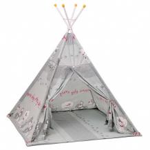 Купить polini палатка-вигвам детская kids веселая игра