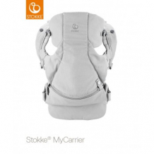 Рюкзак-переноска Stokke MyCarrier 3 в 1 Grey, цвет: серый Stokke 996897138
