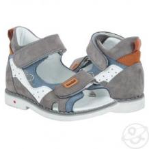 Купить сандалии bebetom, цвет: серый ( id 11658334 )
