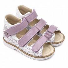 Купить сандалии tapiboo, цвет: сиреневый/белый ( id 12348520 )