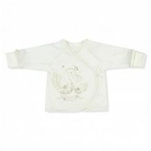 Купить распашонка leo лебеди, цвет: белый ( id 12597274 )