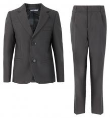 Купить комплект пиджак/брюки boom by orby нарядная линия, цвет: серый 70765_blb вар.2
