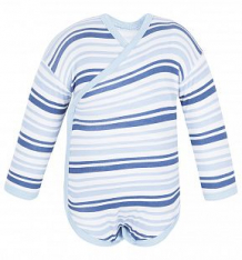 Купить боди чудесные одежки 540139, цвет: белый/синий ( id 5779723 )