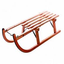 Купить санки sport rodel деревянные, цвет: коричневый ( id 12113704 )