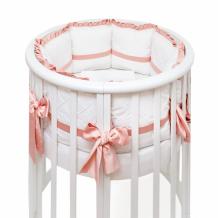 Купить комплект в кроватку colibri&lilly mademoiselle round (7 предметов)